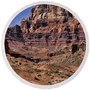 Vermilion Cliffs Arizona Round Beach Towel