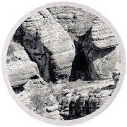 Vermilion Cliffs II Round Beach Towel