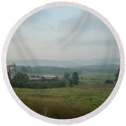 Vermont Round Beach Towel