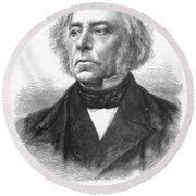 Victor Cousin (1792-1867) Round Beach Towel