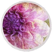 Victorian Thoughts 2 Round Beach Towel