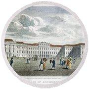 Vienna, 1823 Round Beach Towel