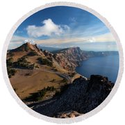View From Watchman Round Beach Towel