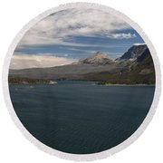 View Of Wild Goose Isl. Round Beach Towel