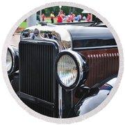 Vintage Dodge - Circa 1930's Round Beach Towel