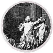 Voltaire: Candide Round Beach Towel