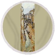 Vuillard: Paris, 1908 Round Beach Towel