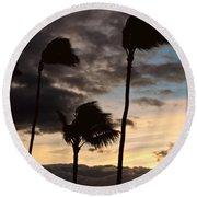 Wa'alaea Sunrise Round Beach Towel