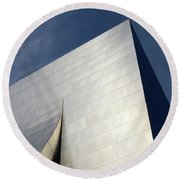 Walt Disney Concert Hall 5 Round Beach Towel