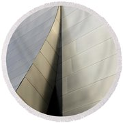 Walt Disney Concert Hall 6 Round Beach Towel