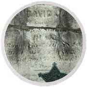 War Of 1812 Veteran Round Beach Towel