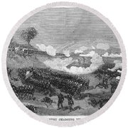 War Of The Pacific, 1879-1884 Round Beach Towel