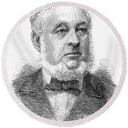 Warren De La Rue (1815-1889) Round Beach Towel