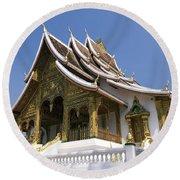 Wat Sen II Round Beach Towel