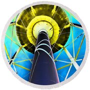 Water Belly Iv Round Beach Towel