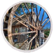 Water Mill Round Beach Towel