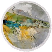 Watercolor 213001 Round Beach Towel