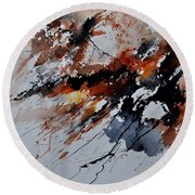Watercolor 217041 Round Beach Towel