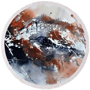 Watercolor 217051 Round Beach Towel