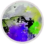 Watercolor 65654 Round Beach Towel