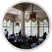 Wawona Dining Room Round Beach Towel