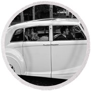 Wedding Day Round Beach Towel