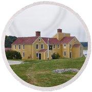 Wentworth Coolidge Mansion Wcmp Round Beach Towel