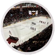 Wfcu Centre Round Beach Towel