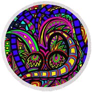 Where The Life Goes Round Beach Towel