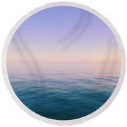 Infinite Horizon Round Beach Towel