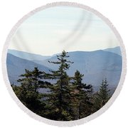 White Mountain National Forest I Round Beach Towel
