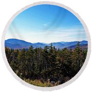 White Mountain National Forest II Round Beach Towel