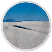 White Sands 1 Round Beach Towel