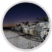 Wiesel 1 Atm Tow Anti-tank Vehicles Round Beach Towel