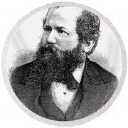 Wilhelm Steinitz (1836-1900) Round Beach Towel