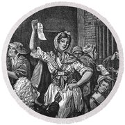 Wilkes And Liberty Riots Round Beach Towel