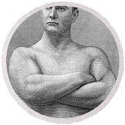 William Muldoon (1852-1933) Round Beach Towel