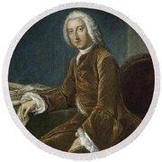 William Pitt (1708-1778) Round Beach Towel
