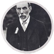 William Ramsay, Scottish Chemist Round Beach Towel