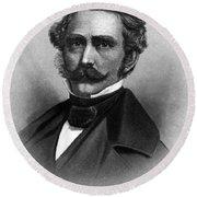 William T. G. Morton, American Dentist Round Beach Towel