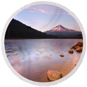 Windkissed Reflection Round Beach Towel
