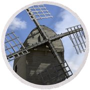 Windmill 10 Round Beach Towel