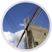 Windmill 7 Round Beach Towel