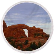 Windows Arch Round Beach Towel