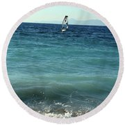 Windsurf Round Beach Towel