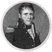 Winfield Scott (1786-1866) Round Beach Towel