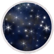 Wish Upon A Star Round Beach Towel