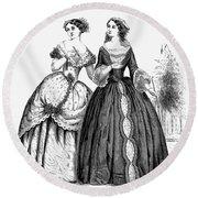 Womens Fashion, 1851 Round Beach Towel