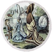 Womens Fashion, 1877 Round Beach Towel