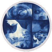 Wondering 4 Round Beach Towel